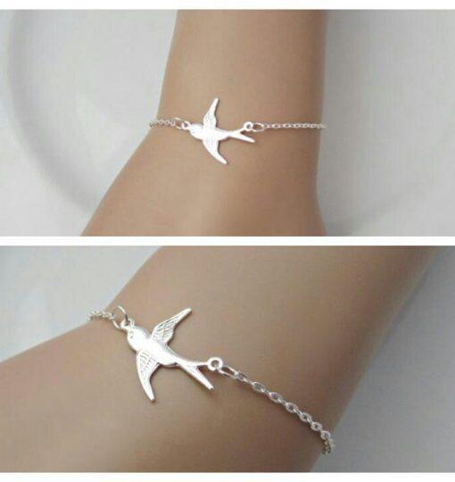 bracelet,cadeau,soeur,argent