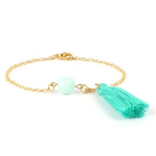 Bracelet cadeau soeur- pierre Jade