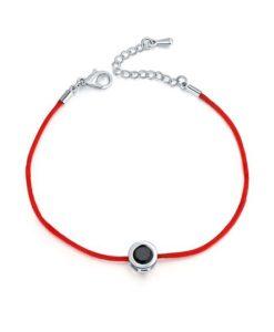 Cadeau anniversaire Femme- Bracelet swarovski noir