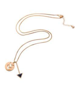 Cadeau bijoux Femme- Collier flêche