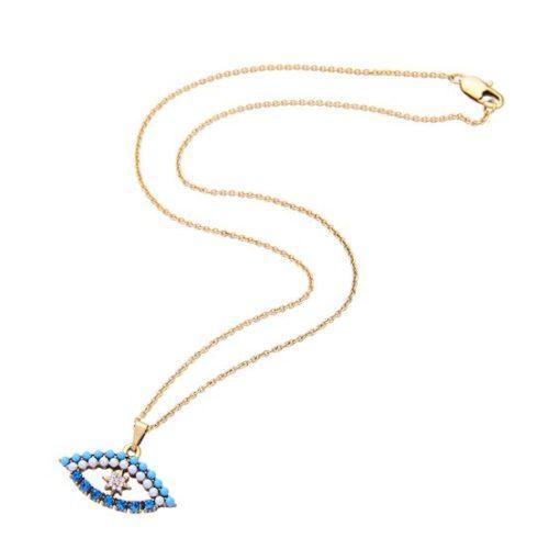 Cadeau bijoux Femme- Collier strass