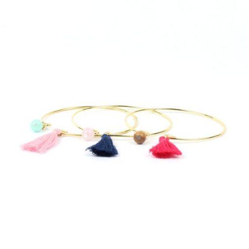 Cadeau bijoux femme- Bracelet jonc or