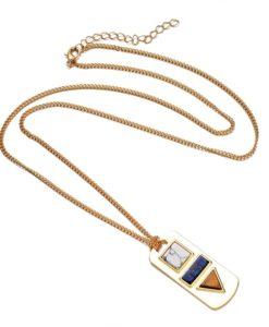 Idee cadeau bijoux Femme- Collier Marbre