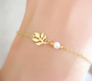 Bracelet cadeau mère -or