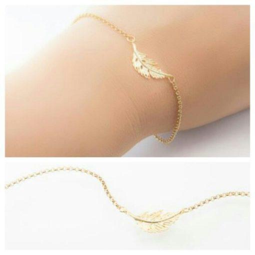 Bracelet cadeau soeur - or