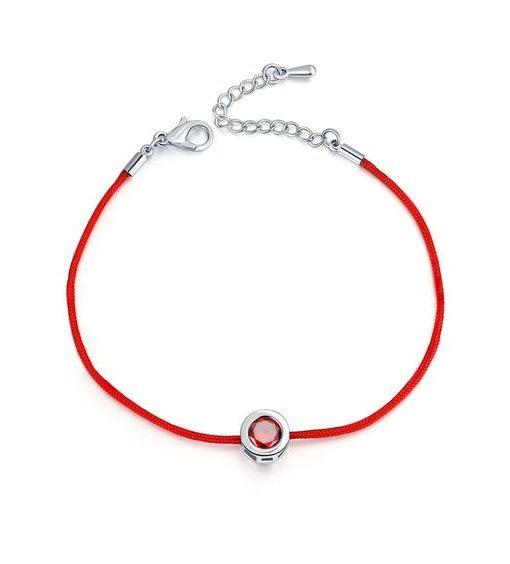 bracelet swarovski zirconia cordon bijoux fantaisie pas cher. Black Bedroom Furniture Sets. Home Design Ideas