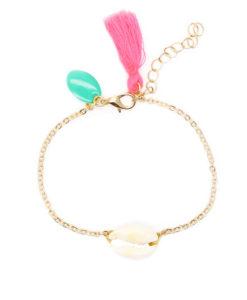 Bracelet cadeau femme coquillage