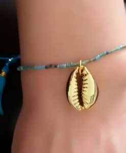 Bracelet coquillage perles 2017