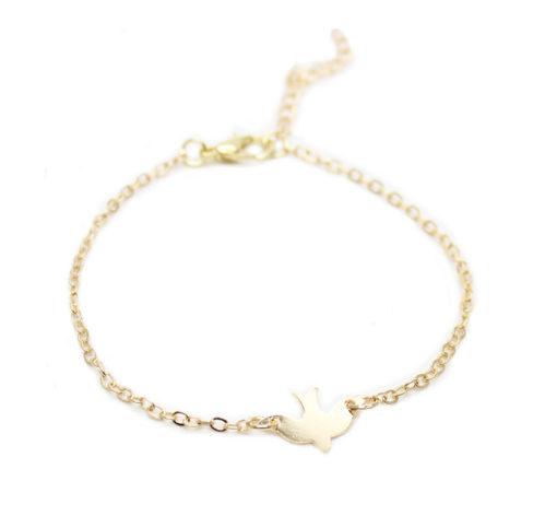 Bracelet hirondelle - idée cadeau soeur