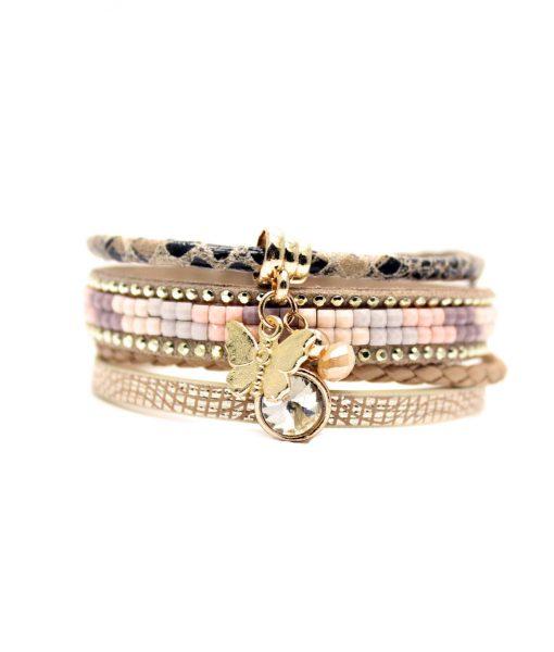 bracelet multi tours swarovski bijoux fantaisie pas cher. Black Bedroom Furniture Sets. Home Design Ideas