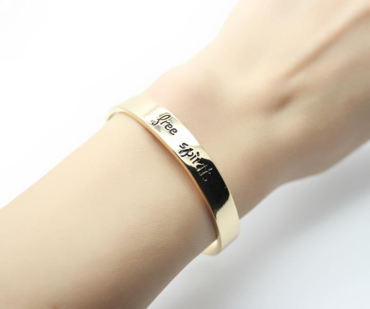 Bracelet or (6)