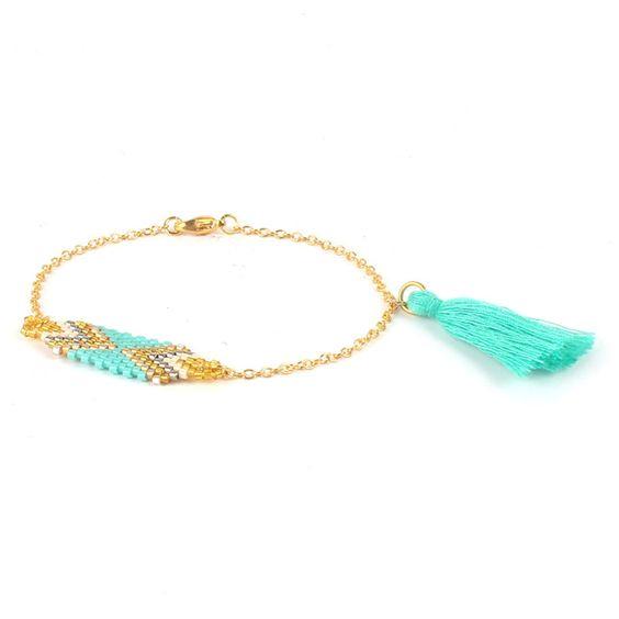 Bracelet perles Miyuki- idée cadeau femme