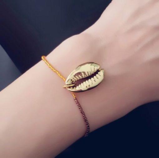 Bracelet tendance coquillage
