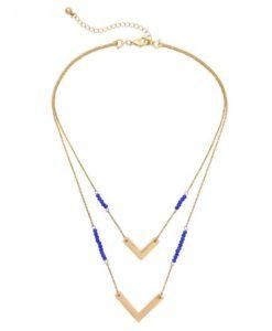 Cadeaux Femme- Collier multi-rangs Swarovski