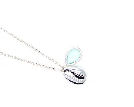 Bijoux coquillage pierre semi-precieuse