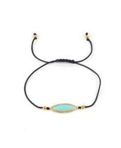 Idée cadeau femme-Bracelet pierre bleu