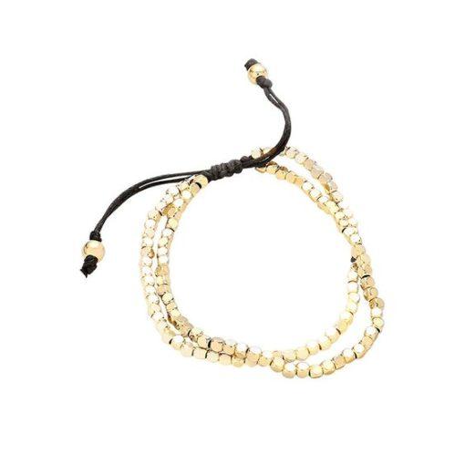 Idée cadeau femme- Bracelet perles cordon