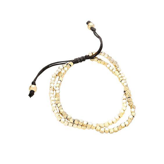 07ce693032c4 Idée cadeau femme- Bracelet perles cordon - BIJOUX FANTAISIE
