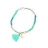 Idee cadeau femme-Bracelet coquillage swarovski