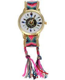 Montre plume bracelet brésilien