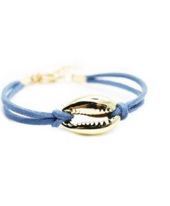 bracelet tendance ete 2017 coquillage cuir