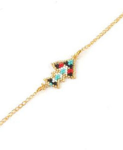 Bracelet Miyuki rouge 2017