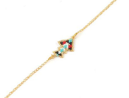 Bracelet Miyuki rouge 2018
