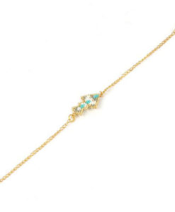 Bracelet Miyuki turquoise 2017