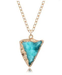 Cadeau anniversaire femme- collier turquoise
