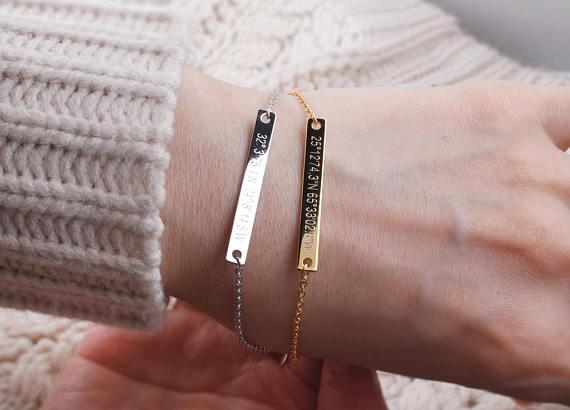 Bracelet argent femme personnalisable
