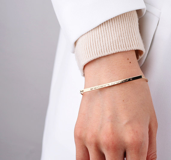 Bracelet large femme