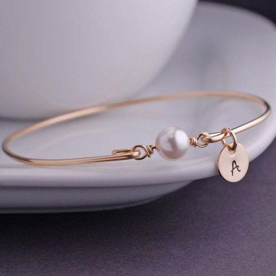 Bracelet perle prénom