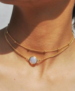 Collier multirangs- bijoux fantaisie