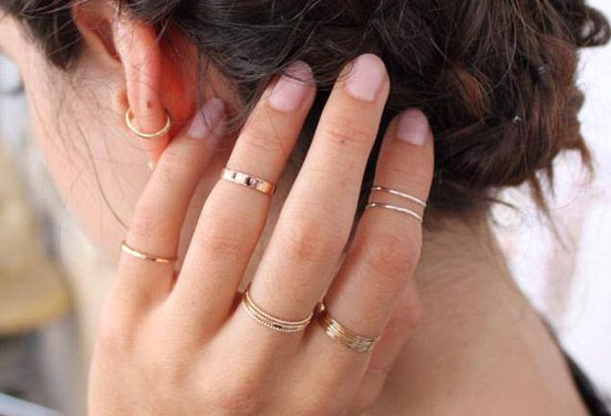 bague phalange or