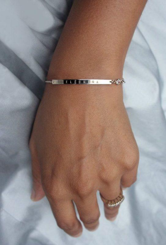 bracelet à graver femme