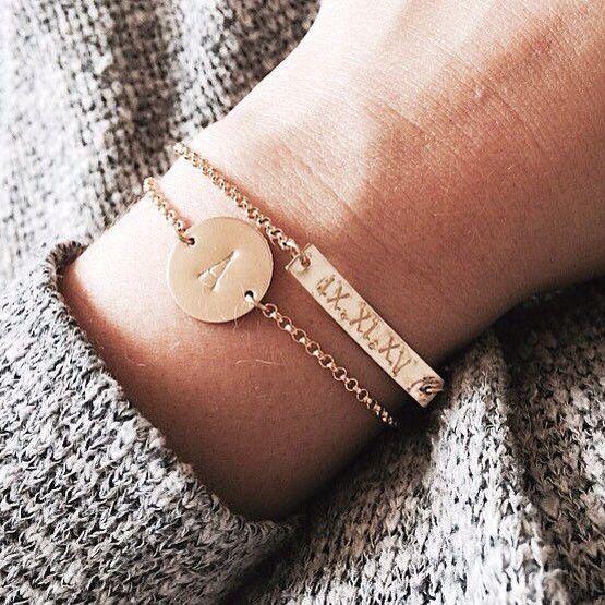 bracelet a graver pour femme