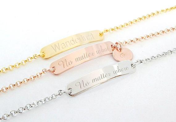 bracelet personnalisé femme