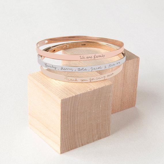bracelet prenom personnalisé