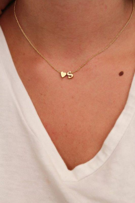 collier en or femme