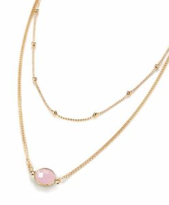 collier multi rangs or