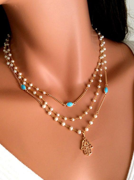 sautoir perle