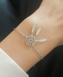 Cadeau soeur- bracelet attrape rêves