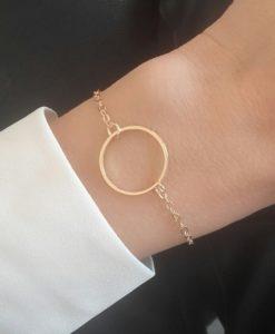 Idée cadeau soeur- bracelet cercle