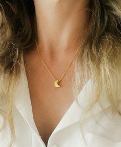 Idée cadeau soeur- collier lune