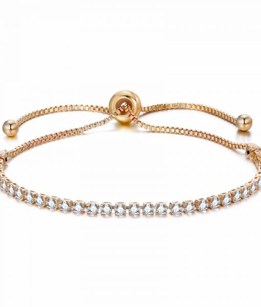 Bracelet strass swarovski or