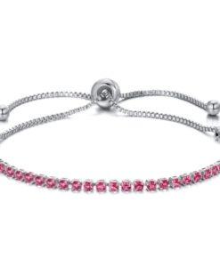 Bracelet strass swarovski rose