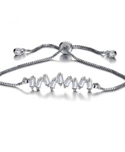 Idee cadeau amie- Bracelet zirconium