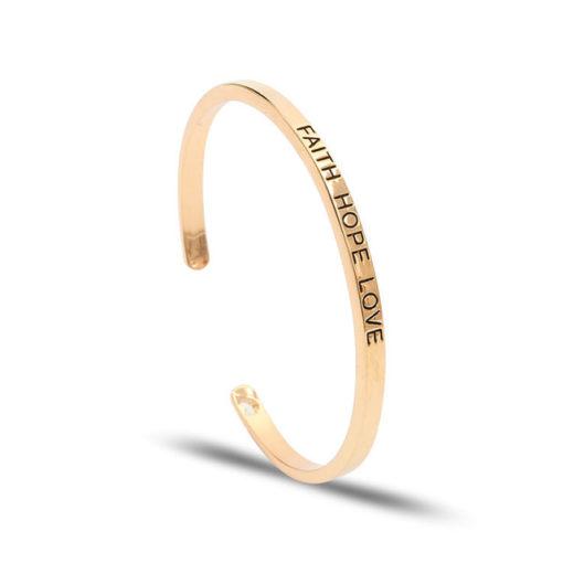Bracelet jonc femme