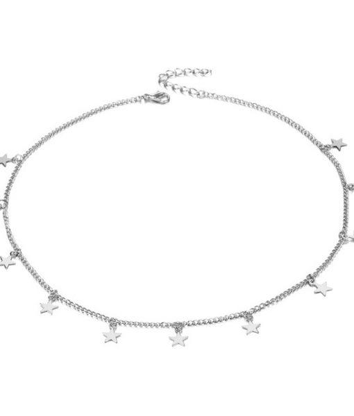 collier argent femme original bijoux fantaisie pas cher. Black Bedroom Furniture Sets. Home Design Ideas