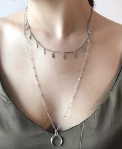 collier multirang argent 2018